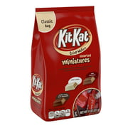Kit Kat, Crisp Wafer Milk Chocolate Candy Bars Miniatures Assortment, 11 Oz