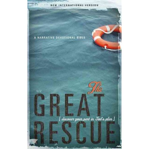 Great Rescue Bible-NIV: Discover Your Part in God's Plan
