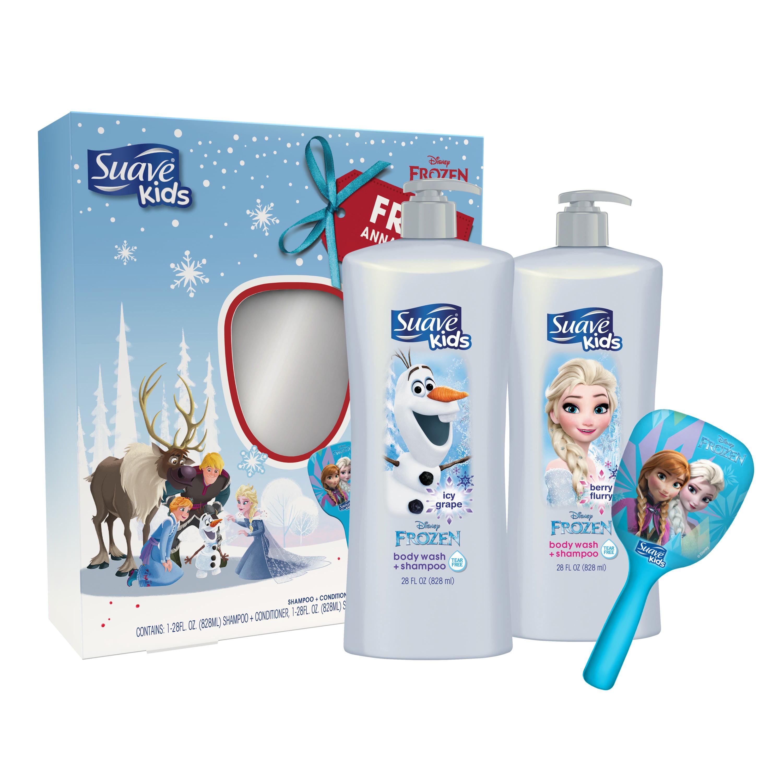 Suave Kids 3-Pc Disney Frozen Gift Set with BONUS Mirror (Shampoo, Conditioner), 28 oz ($18.64 Value)
