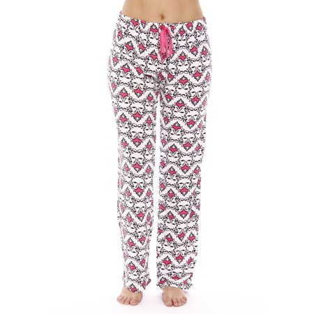 Just Love Women Pajama Pants / PJs / Sleepwear (Scroll Heart, - Costume Pjs