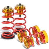 For 2006 to 2011 Honda Civic FA FG FG 4pcs Aluminum Scaled Suspension Coilover Kit (Red) 07 08 09 10