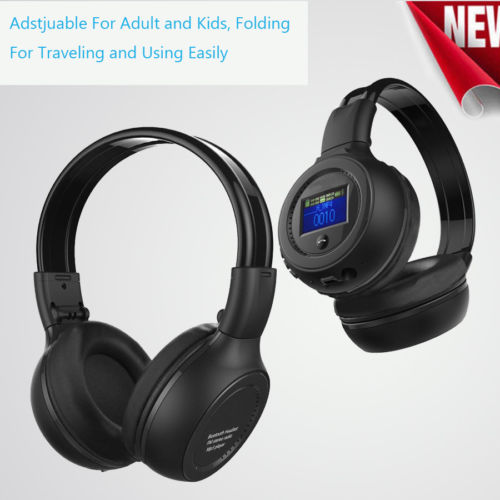 Bluetooth Wireless Foldable Stereo Headset/Headphones With Call Mic/Microphone