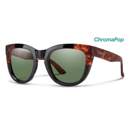 Black Havana Sunglasses - Smith Sidney Sunglasses 52 Black Havana Block