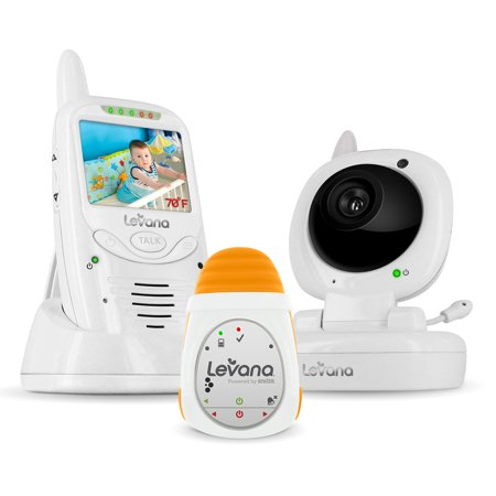 levana jena digital baby video monitor with levana powered by snuza oma portable baby movement. Black Bedroom Furniture Sets. Home Design Ideas