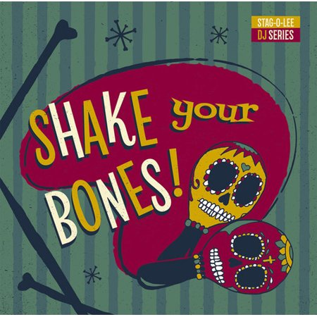 Shake Your Bones: Stag-O-Lee DJ Set Vol. 2 (Various Artists) (Vinyl) - Shake Dem Halloween Bones Song