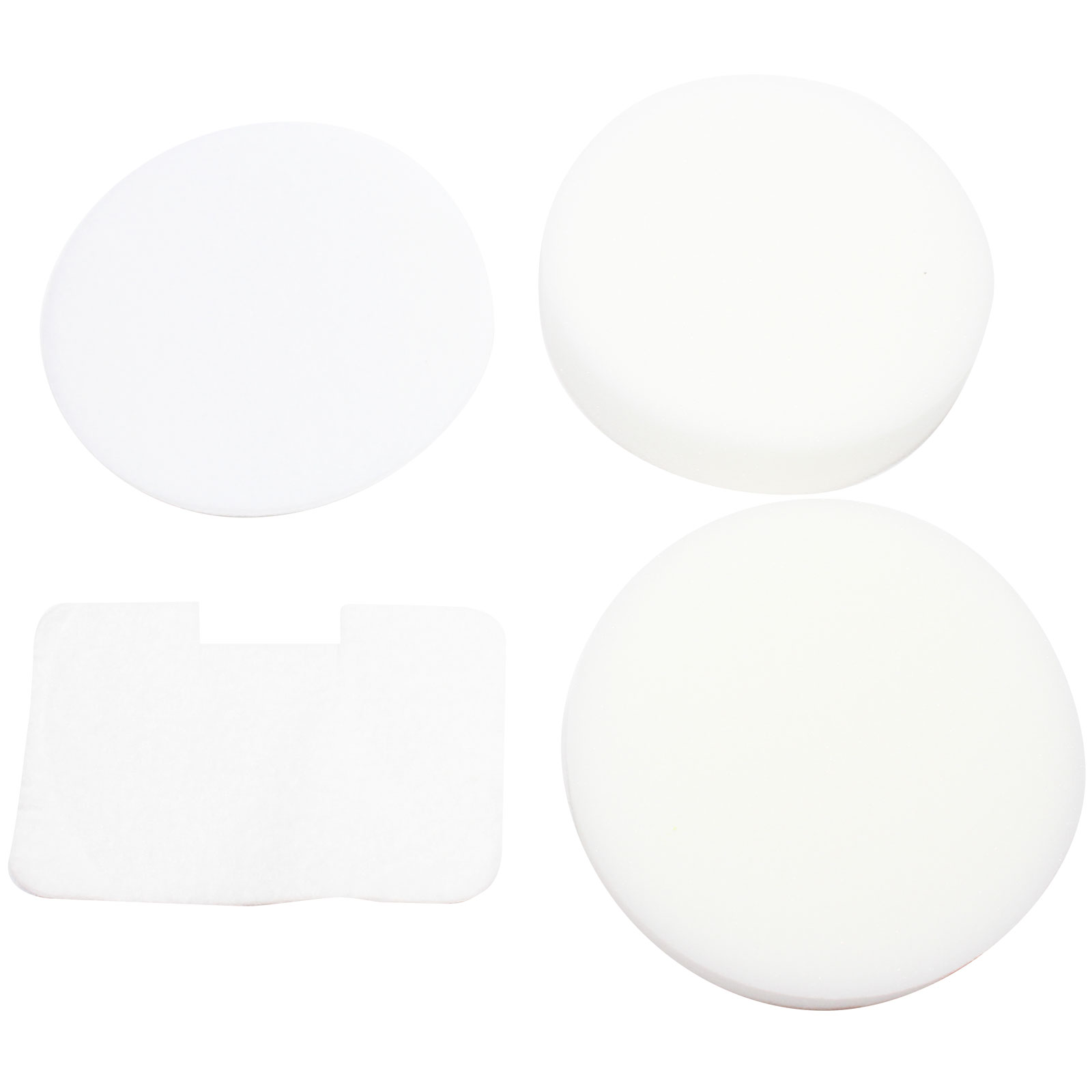 3-Pack Replacement Shark Navigator Deluxe UV400 Vacuum 4-Piece Foam and Felt Replacement Filter Kit - Compatible Shark XF22, NV22L Foam and Felt Replacement Filter Kit - image 1 of 4