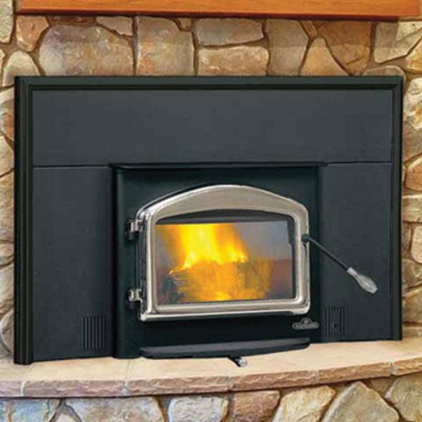 epi 1101m napoleon small wood burning fireplace insert