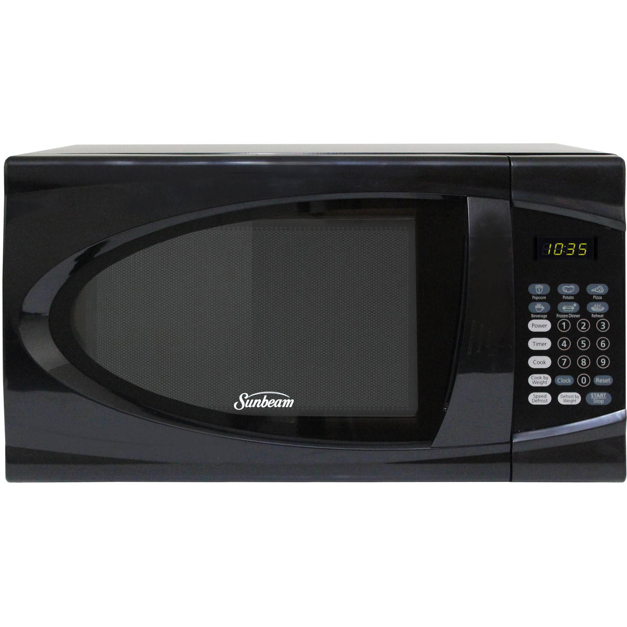 Sunbeam 0.9 cu ft Microwave, Black