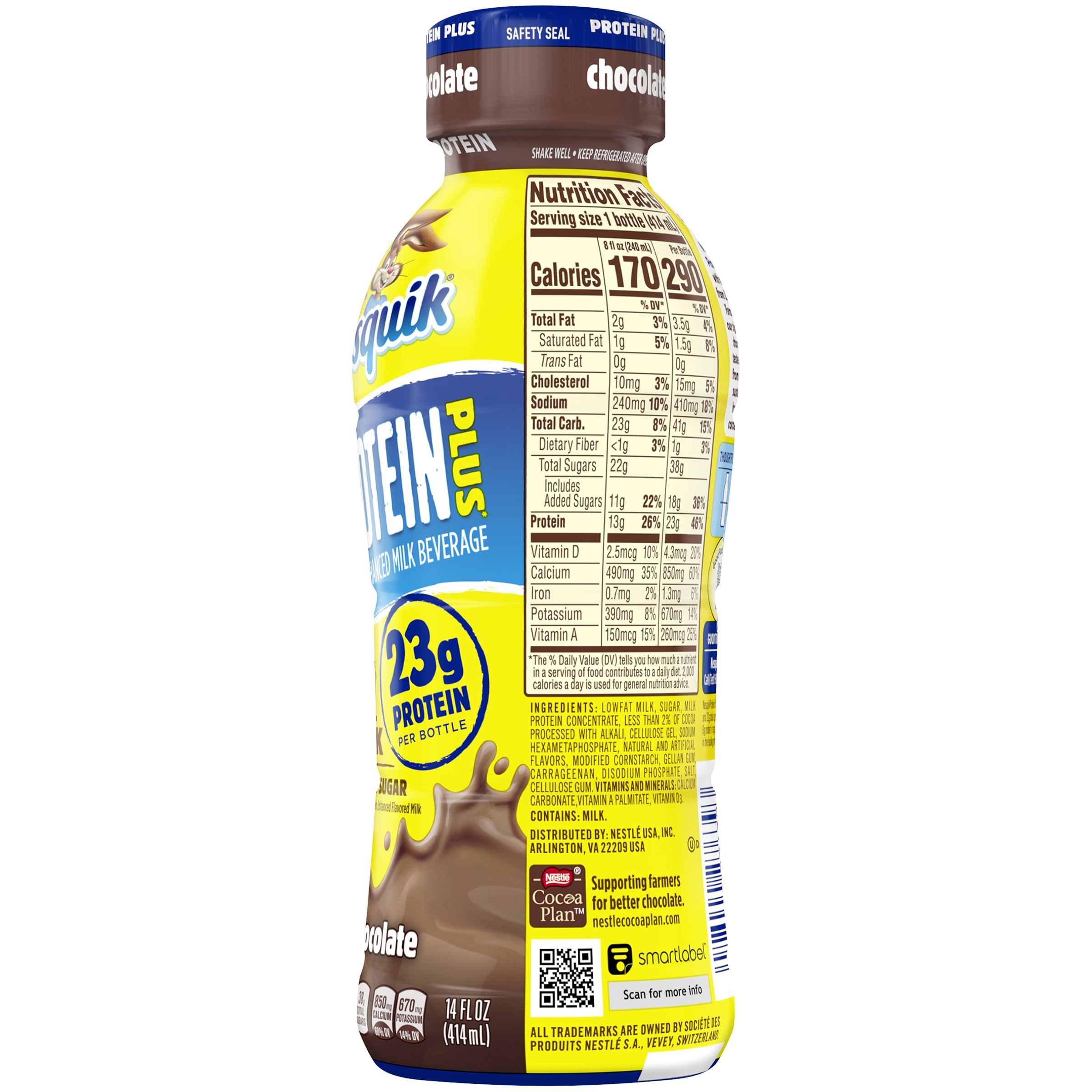NESQUIK PROTEIN POWER Chocolate Milk 14