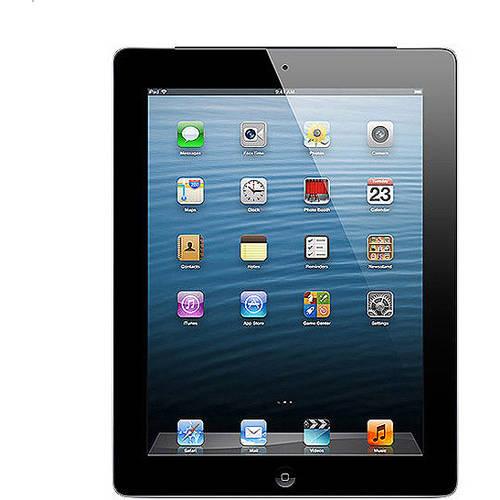 Apple iPad with Retina display 16GB Wi-Fi Refurbished, (Black or White)