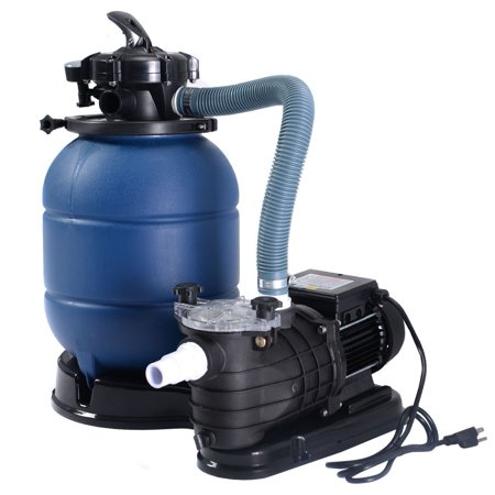 Costway New Pro 2450gph 13 39 39 Sand Filter Above Ground 10000gal Swimming Pool Pump