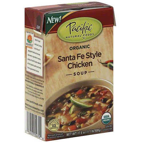 Pacific Natural Foods Santa Fe Style Chicken Soup, 17.6 oz (Pack of 12)