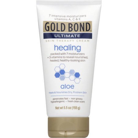 New Ultimate Age Repair Cream (Gold Bond Ultimate Healing Skin Therapy Lotion with aloe,)
