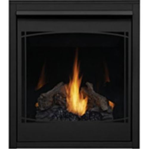 Napoleon Zen Decorative Front in Black for B30 Fireplaces