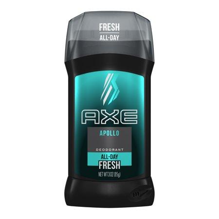 (2 pack) Axe Apollo Deodorant Stick for Men, 3 oz