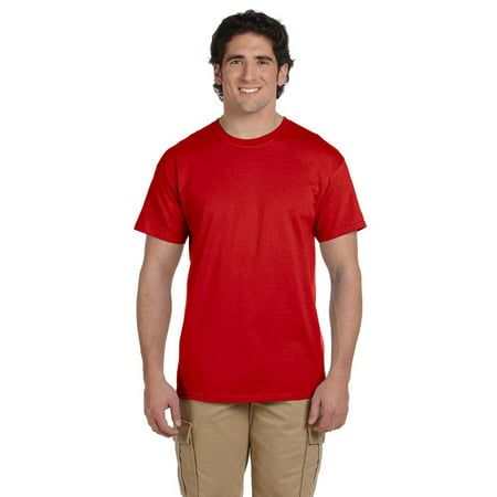 3931 Fruit (Branded Fruit of the Loom Adult 5 oz HD Cotton T-Shirt - TRUE RED - 6XL (Instant Saving 5% & more) )