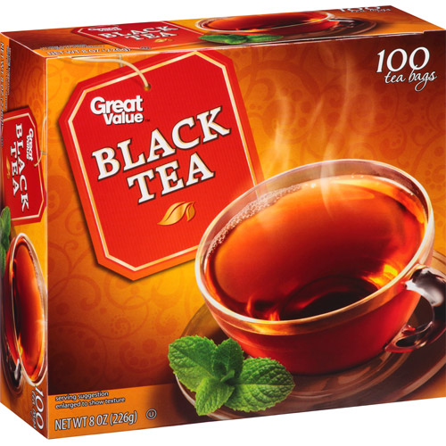 Great Value: All Natural Tea, 8 oz