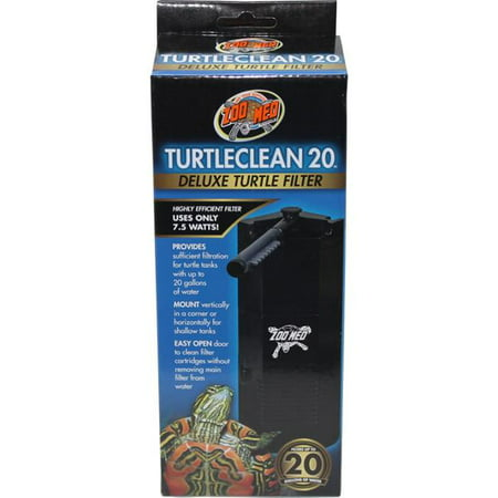 Zoo Med Laboratories TC-23 20 gal Turtleclean Deluxe Turtle Filter Factory 20 Gal Tank
