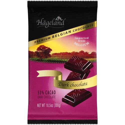 Hageland Premium Belgian Dark Chocolate, 10.5 oz by HAGELAND