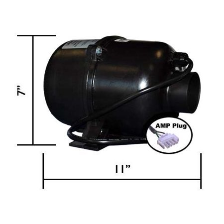 Ultra 9000 1 Horsepower Spa and Hot Tub Blower, 120 volts (Ultra Spa)