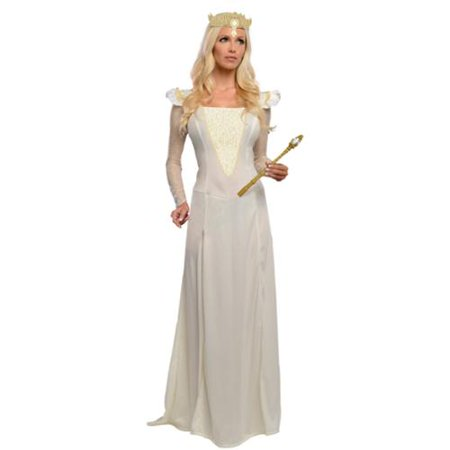 Womens Oz Classic Glinda Halloween Movie Costume
