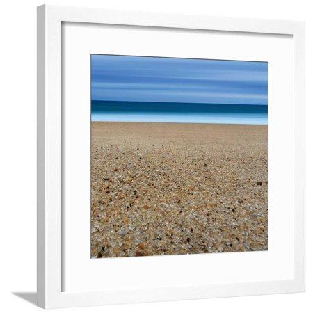 Glass Sand Framed Print Wall Art By Katherine (Katherine Glass)