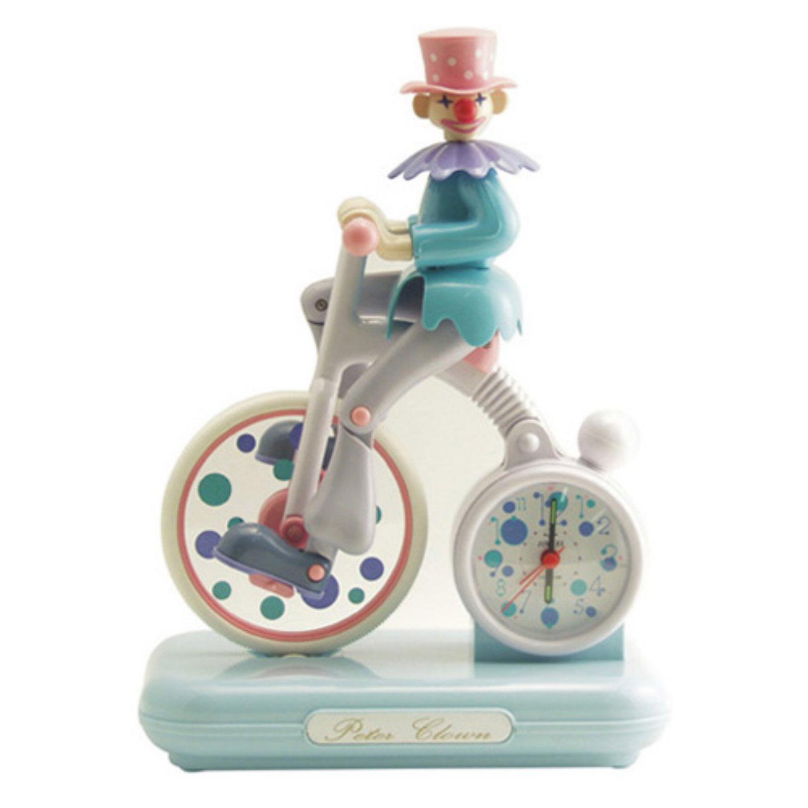 Clown 6.5 in. Alarm Clock by dCOR design