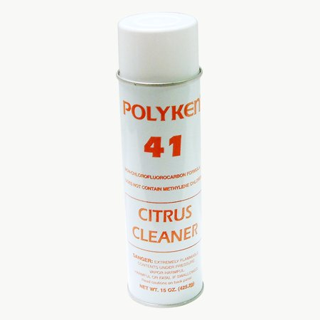 Citrus Base Adhesive Remover - Polyken 41 Citrus Cleaner / Adhesive Remover: 20  fluid ounces (Clear)