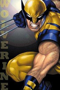 Magnet Marvel X-Men Wolverine Snarl Licensed Gifts Toys m-xm-0008 by C & D
