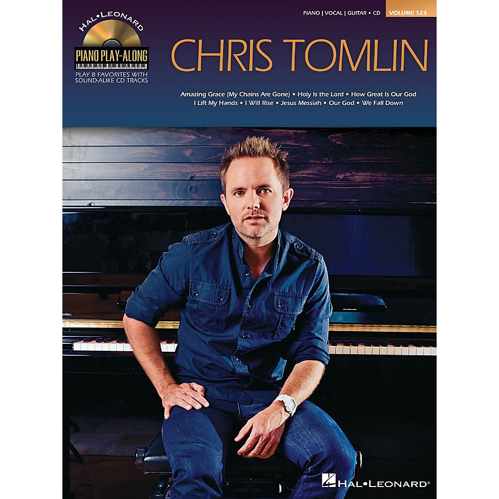 Hal Leonard Chris Tomlin - Piano Play-Along Volume 123 Book/CD