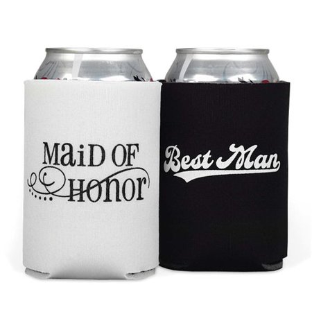 Le Prise 2 Piece Maid of Honor & Best Man Can Cooler