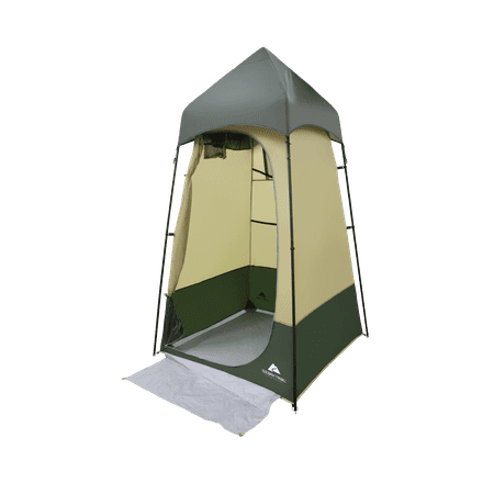 Ozark Trail Hazel Creek Lighted Shower Tent (Shower Floor Camping)