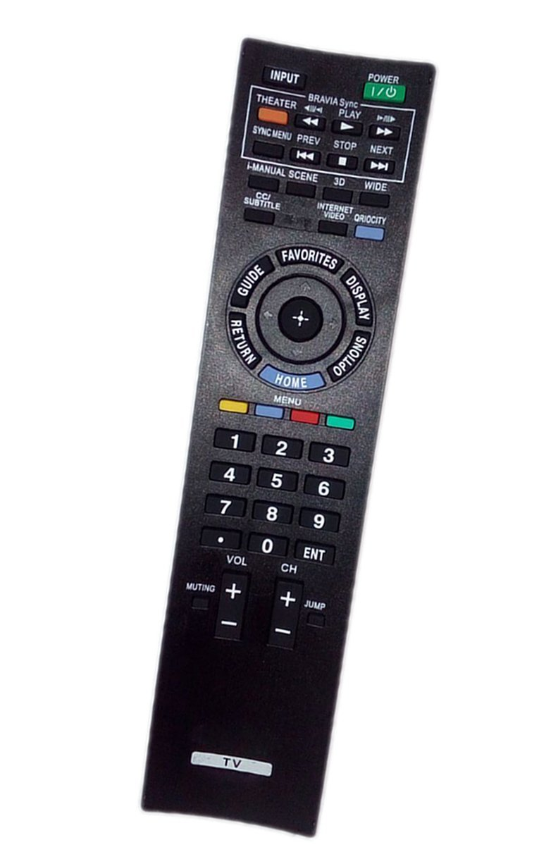 replaced remote control compatible for sony kdl 46hx800 rmyd034 rh walmart com Sony BRAVIA Back Panel Sony BRAVIA Replacement Parts