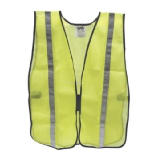 Sas Safety 6823 Safety Vest, Yellow, Basic by SAS Safety