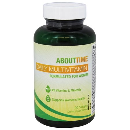 About Time - Daily multivitamines femmes - 90 Vegetarian Capsules