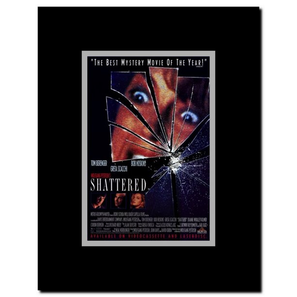 Shattered Framed Movie Poster Walmart Com Walmart Com