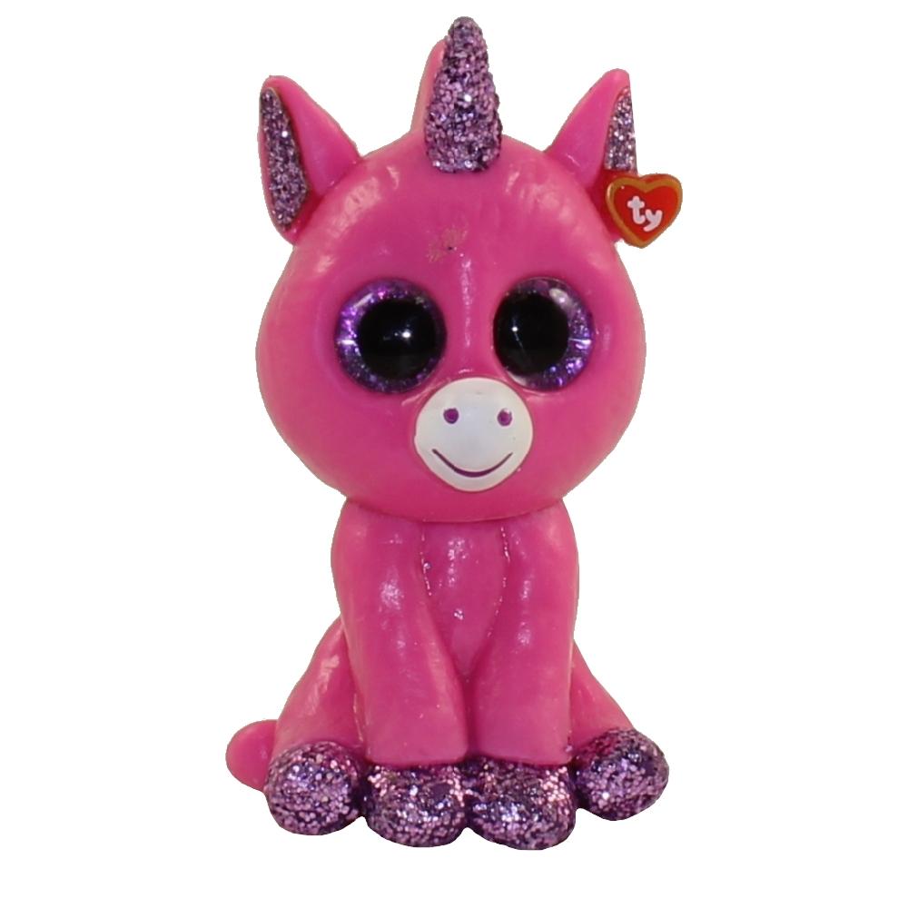 2 inch Bubblegum Pink Unicorn - New TY Mini Beanie Boos Series 3