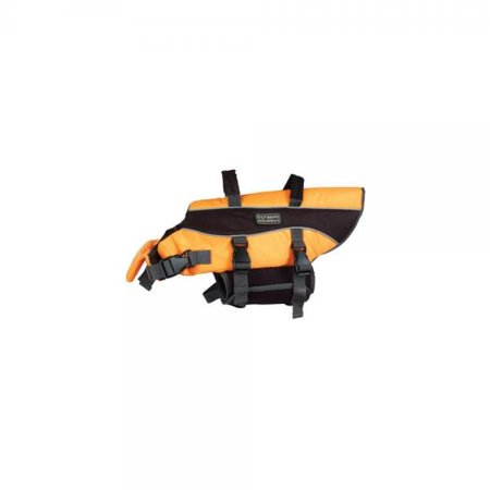 Outward Hound Pupsaver Life Jacket Orange Apparel - Medium - Dogs 20-50 lbs - (Girth 22