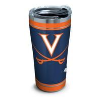 NCAA Virginia Cavaliers Campus 20 oz Stainless Steel Tumbler with lid