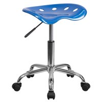Flash Furniture HERCULES Series Black Vertical Back Metal Restaurant Chair, Wood Seat, Multiple Colors