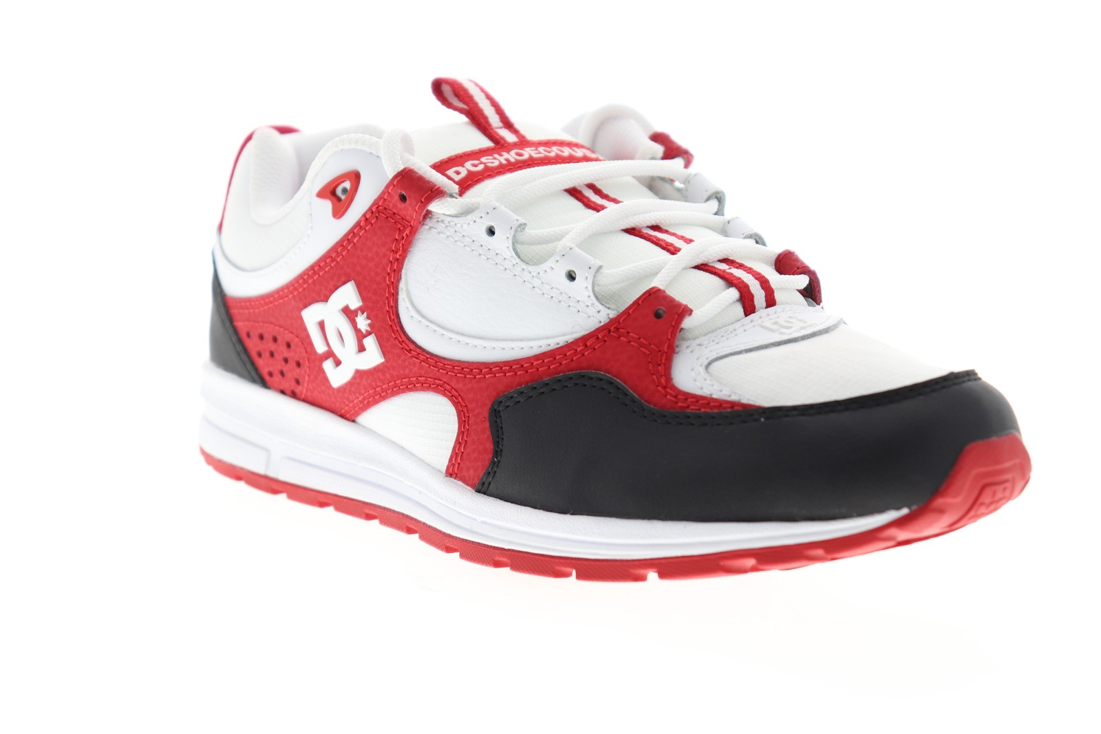 DC - DC Kalis Lite Mens White Red Leather Lace Up Athletic Skate Shoes -  Walmart.com - Walmart.com