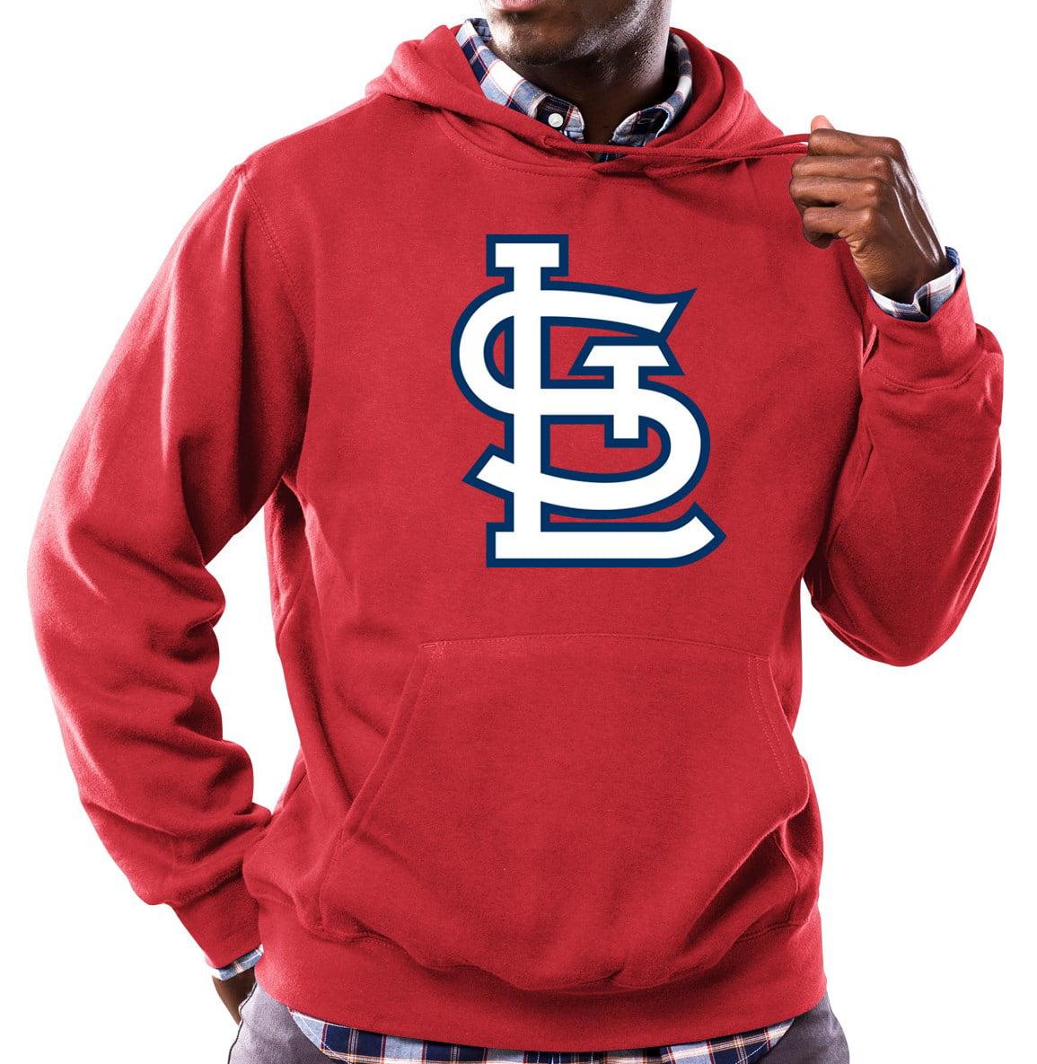 "St. Louis Cardinals Majestic MLB ""Scoring Position"" Men's Hooded Sweatshirt"