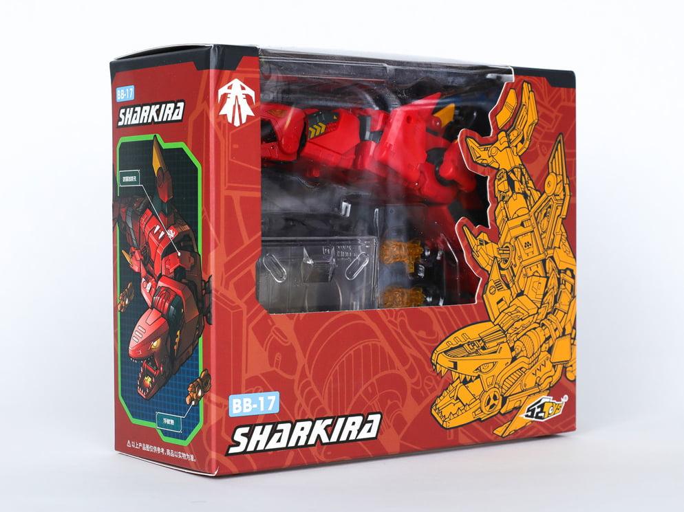 52Toys BeastBOX BB-17 Sharkira Shark Transforming Action Figure In Stock USA