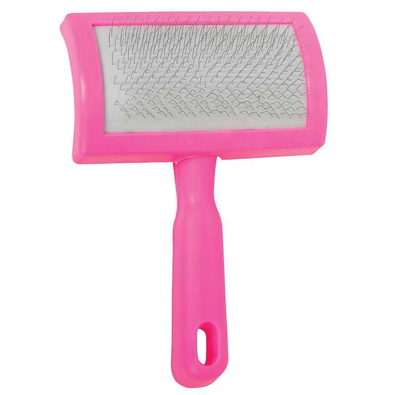 Weaver Leather  Pink Plastic Slicker Brush