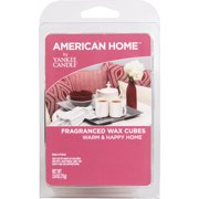 American Home by Yankee Candle Warm and Happy Home, 2.6 oz Fragranced Wax Cubes