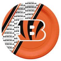 Cincinnati Bengals Disposable Paper Plates