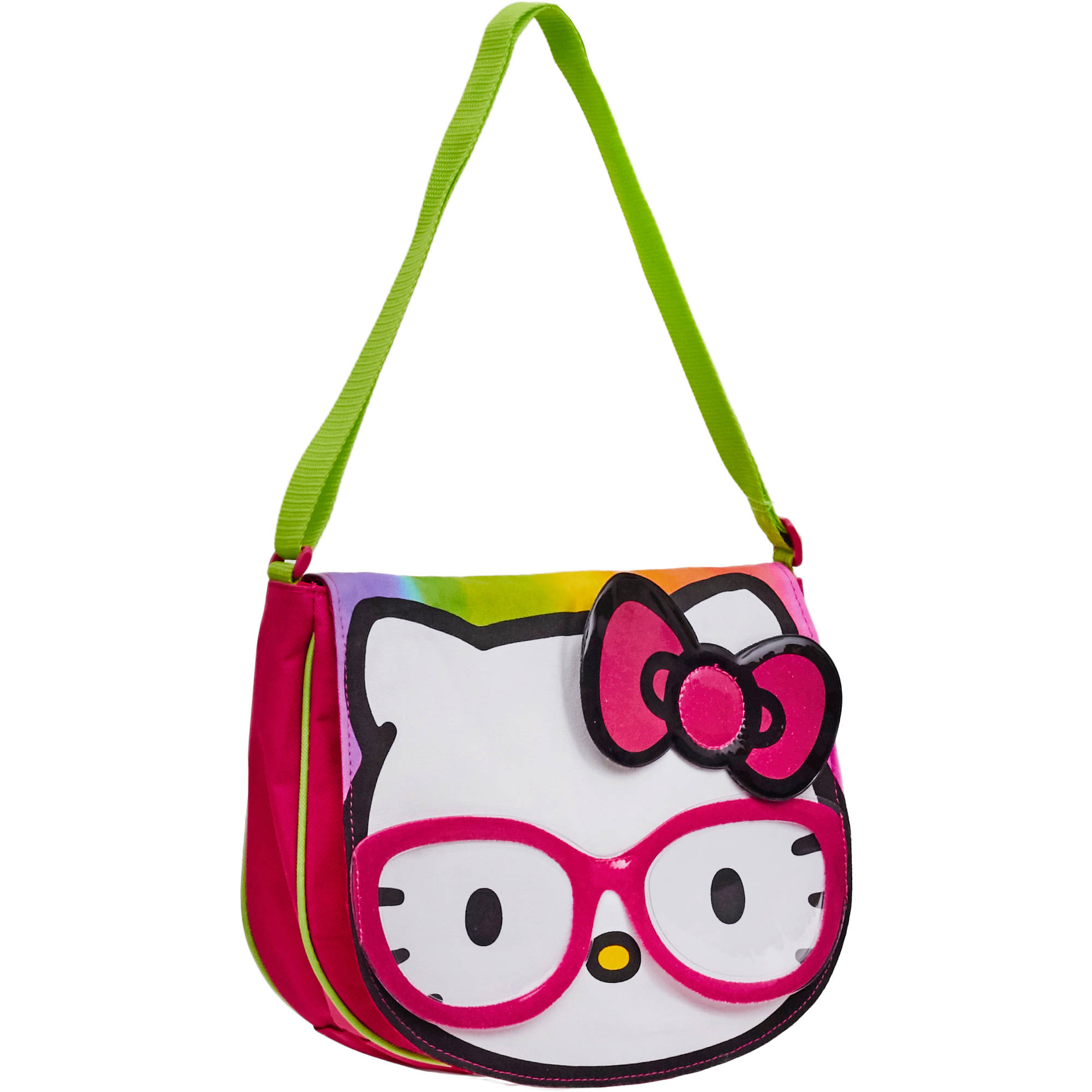 Hello Kitty Messenger with Glasses and Bow
