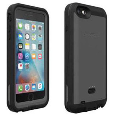 reputable site 1beaf 92124 iPhone 6 plus/6s plus Lifeproof fre power case, black