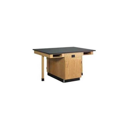 Diversified Woodcrafts Four Student Single Faced Science Center  picture