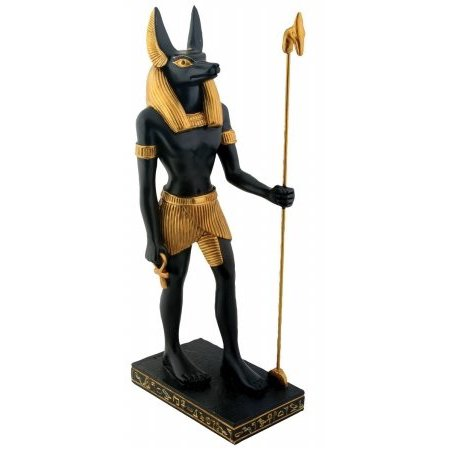 YTC Egyptian Anubis - Collectible Figurine Statue Figure Sculpture Egypt Multi-colored